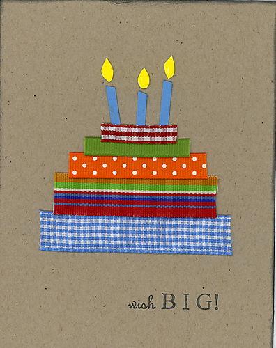 Ribbon Cake Bday 8-11-06