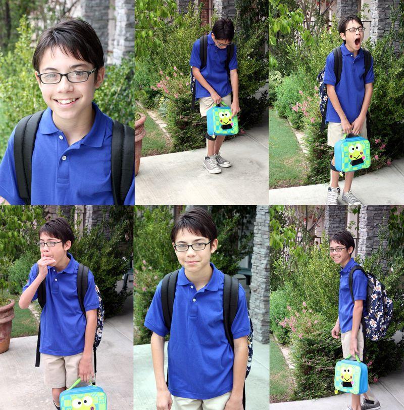 1st Day of school 9-9-09