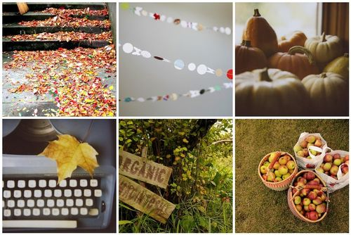 Fall flickr collage