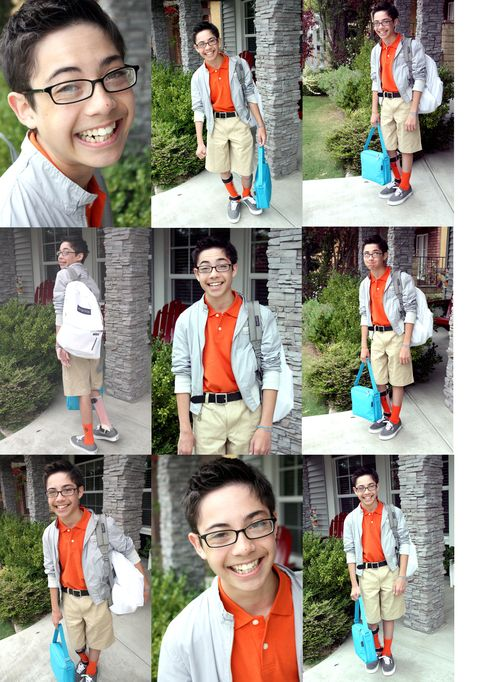 First Day Collage